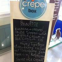 Photo taken at Crepe Box by Reese C. on 5/5/2013