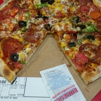 Photo taken at Domino's Pizza by Yagmur Y. on 1/8/2016