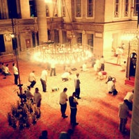 Photo taken at Eyüp Sultan Mosque by ' Zehra T. on 7/20/2013