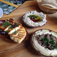 Photo taken at Yalla Yalla by Sally Doris K. on 6/15/2013