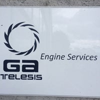 Photo taken at Ga Telesis Engine Services by Murat I. on 8/21/2014