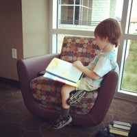 Photo taken at West Irving Library by Kimberly P. on 5/29/2013