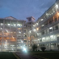 Photo taken at KCMC Hospital Moshi by John N. on 9/10/2013