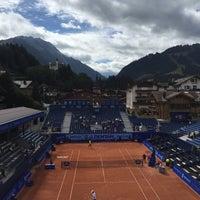 Das Foto wurde bei FIVB Gstaad Center Court von Rom . am 7/28/2015 aufgenommen