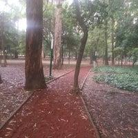 Photo taken at Parque Gandhi by Elias Emanuel O. on 8/18/2013