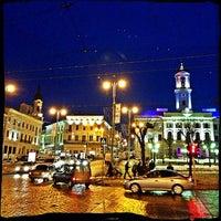 Снимок сделан в Центральная площадь пользователем саша lavash х. 2/5/2013