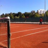 Photo taken at Tennis Court Cora by Darius P. on 10/5/2013