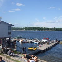Photo taken at Loons Landing by Mark H. on 8/5/2013
