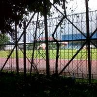 Photo taken at GOR Pajajaran by ghina j. on 7/3/2013