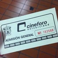 Photo taken at Cineforo Universidad by Jose Luis T. on 9/26/2014