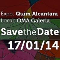 Photo taken at Arte Brasileira - artista plástico Quim Alcantara (Atelier, Galeria, Studio) by Quim A. on 1/8/2014