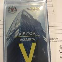 Photo taken at Menara Suruhanjaya Syarikat Malaysia (SSM) by @MiLϒ on 4/18/2017