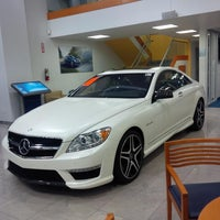 Photo taken at Mercedes-Benz of Encino by Maha A. on 10/27/2013