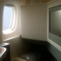 Photo taken at American Airlines Flight 101 by Poshbrood on 4/25/2013