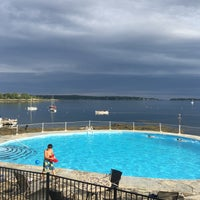 Photo taken at Linekin Bay Resort by Poshbrood on 7/31/2016