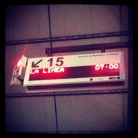 Photo taken at Málaga Bus Station by Iveta Ķ. on 10/20/2012
