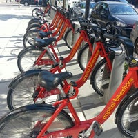 Photo taken at Capital Bikeshare - 15th & P St NW by Maria S. on 5/25/2013