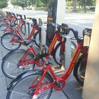 Photo taken at Capital Bikeshare - 19th & E St NW by Maria S. on 6/5/2013