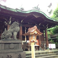 Photo taken at 鉄砲洲稲荷神社 by Toryu k. on 6/12/2013