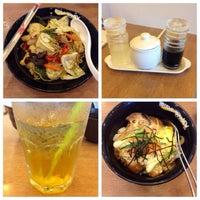 Photo taken at Oishi Ramen by Pim K. on 12/1/2013
