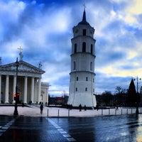 Photo taken at Dawny kościół Księży Misjonarzy w Wilnie by Кристина М. on 1/4/2015