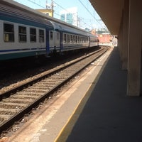Photo taken at Genova Sampierdarena Railway Station by Fionnulo B. on 7/25/2013