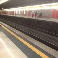 Photo taken at Metro Sondrio (M3) by Fionnulo B. on 10/21/2012