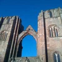Photo taken at Elgin Cathedral by Martin R. on 6/10/2013