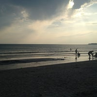 Photo taken at Пляж DOSTAR by Danil G. on 8/4/2013