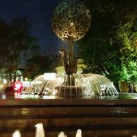 Снимок сделан в Фонтан-памятник «Адам и Ева под Райским деревом» пользователем Dianka 5/12/2013