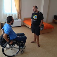 Photo taken at Σύλλογος Ατόμων με Κινητικά Προβλήματα και Φίλων Περπατω by Nikos K. on 8/23/2013