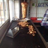 Photo taken at Akgün Döner Salonu by Hüseyin A. on 2/1/2014