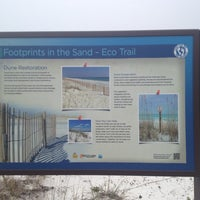 Photo taken at Footprints in the Sand - Eco Trail dune restoration by Helena B. on 3/22/2014
