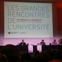 Photo taken at Faculté de Droit et de Sciences Politiques - Aix-Marseille Université by Ludovic C. on 3/19/2013