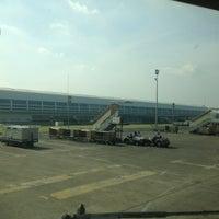 Photo taken at R 62 Cengkareng Intl Airport by Irfan Triswana T. on 5/17/2013