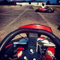 Photo taken at Karting des Fagnes by Max V. on 7/20/2013