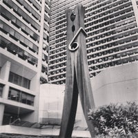 Photo taken at Clothespin Statue by Andrew S. on 9/26/2013