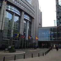 Photo taken at European Parliament MOY by Juan Antonio R. on 10/4/2013
