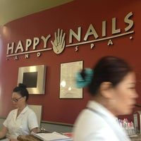 Photo taken at Happy Nails & Spa by Sherra Victoria B. on 7/28/2013