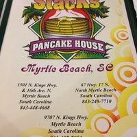 Photo taken at Hot Stacks Pancake House by Lauren O. on 10/19/2013