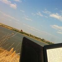 Photo taken at Большой Аджалыкский лиман by Irina A. on 7/27/2013