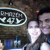 Photo taken at Armazém 47 by Thalija F. on 9/7/2014