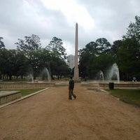 Photo taken at Hermann Fountain by Henrik J. on 5/8/2014