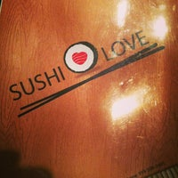 Photo taken at Sushi Love by F. Khristopher B. on 9/18/2013