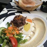Photo taken at Dada Falafel by Newhawaii on 6/11/2013