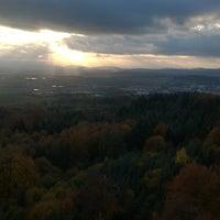 Photo taken at Rozhledna Jarník by Luboun on 10/30/2016