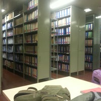 Photo taken at Biblioteca UCA Agrarias by Anto B. on 5/13/2013