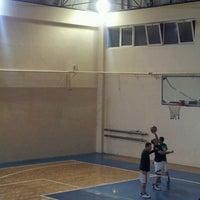 Photo taken at Cavit Özyeğin Spor Salonu by Canan K. on 11/7/2013