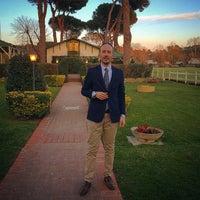 Photo taken at Roma Polo Club by Nicolò C. on 3/13/2015
