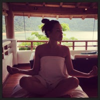 Photo taken at V Botanical Spa, The Andaman by Diff on 5/10/2013